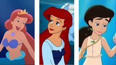 The Little Mermaid Melody Grown Up   Athena, Ariel and Melody The little mermaid