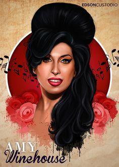 Amy Winehouse on Behance