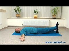 Exercitii de mobilizare a spatelui - YouTube Sciatica, Beach Mat, Outdoor Blanket, Health Fitness, Youtube, Sports, Sport, Health And Fitness, Youtube Movies