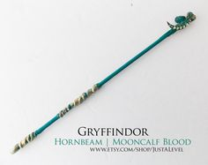 Moon Beam Harry Potter Inspired Wand Gryffindor by JustALevel