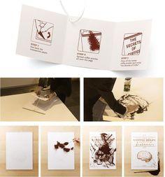 direct mail Direct Mailer, Direct Marketing, Brain Food, Graphic Design Inspiration, Coffee, Paper, Guerilla Marketing, Direct Mail, Kaffee