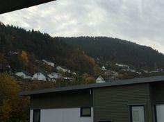 From my terrasse. Da minha varanda. Løvstakken, Fyllingsdalen, Bergen.