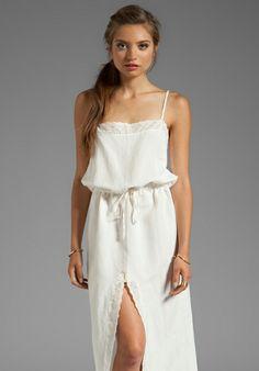 FOR LOVE & LEMONS Kentucky Maxi Dress in Ivory