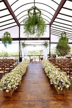 Grün und Blumenkronleuchter für Ihre Hochzeit - Beste Trend Mode
