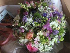 Summer Wedding Flowers |Summer Bridal Bouquet by post