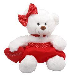 Valentine's Day Teddy Bear. Buy yours! Aρκουδάκι Αγίου Βαλεντίνου. Aγοράστε δικό σας! >www.much.gr #teddy #bear #valentine's_day#toys #muchtoys