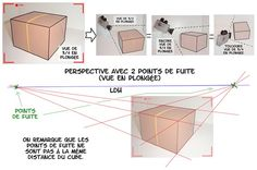 le dessin en perspective (part 1) #drawing #dessin #perspective