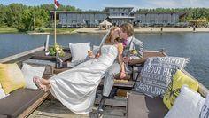 Bruidspaar in Villa's Vlot