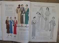 Winter 1931-32 Pictorial Review Fashion Pattern Book (62 pgs) 1930s Magazine | eBay