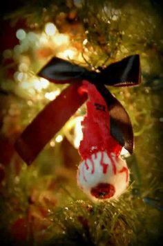 DIY glittery baby doll part Christmas ornaments  Baby dolls
