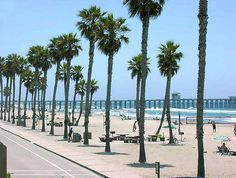 Ocean Side, California!   It is so beautiful. I have such great memories going there!