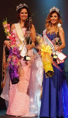 Nuestra reina Paola Alejandra, la nueva Festiva Prom Queen junto a la ganadora del Festiva Bride Cover Model 2016