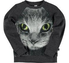 molo long sleeve sweatshirt with digital front print