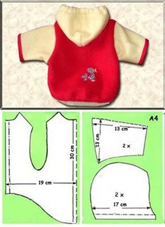 yorkiefan - multiple printable free patterns no directions Dog Jacket Pattern, Sew his name on back, maybe a patch on the front Risultati immagini per dog sweaters knitting patterns Sterling Silver Rectangles with Gold Filled Beads Earrings. Small Dog Clothes, Puppy Clothes, Dog Coat Pattern, Jacket Pattern, Dog Clothes Patterns, Dog Crafts, Dog Jacket, Dog Items, Pet Fashion