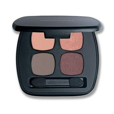 New Shades bareMinerals READY Eyeshadow 4.0 The Happy Place featuring Peace + Imagine + Exhale + Euphoria (muted apricot/rose gold/smoky taupe/eggplant)