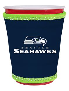 Seattle Seahawks Insulating Cup Sleeve by Kolder at Picnic Kingdom
