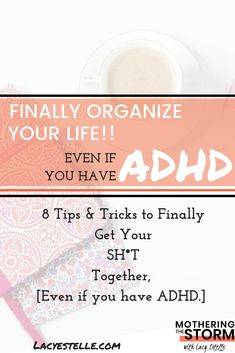 8 Steps and our life was better managed. Adhd And Autism, Adhd Kids, Adhd Facts, Adhd Help, Adhd Strategies, Calming Activities, Adult Adhd, Special Needs Kids, Organize Your Life