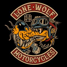 Motorcycle Art, Motorcycle Design, Rockabilly Art, Pix Art, Vintage Metal Signs, Garage Art, Lone Wolf, Art Logo, Graffiti Art