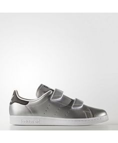 Womens Adidas Fast Stan Smith Silver Met. Silver Met. Core Black S76661