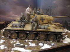Dioramas and Vignettes: In the service of the Wehrmacht | captured T-34