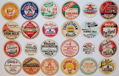 Vintage Milk Bottle Caps
