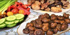 O bunătate de ciuperci la cuptor - suculente și nemaipomenit de gustoase, mai ales dacă le coci întregi! - Bucatarul Kung Pao Chicken, Stuffed Mushrooms, Beef, Ethnic Recipes, Food, Biscuits, Meat, Essen, Ox