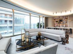 Perry Street Boomerang, Luxury Living room, Avenue Road Furniture, Yabu Pushelberg