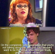 Criminal Minds - Kirsten Vangsness and Matthew Gray Gubler