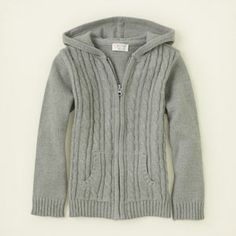 girl - sweaters - uniform zip-up hoodie sweater | Children's Clothing | Kids Clothes | The Children's Place
