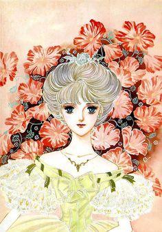 """Art from """"Yokohama Monogatari"""" series by manga artist Waki Yamato."""