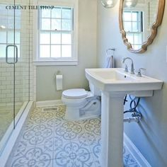 Cannes III bathroom floor tile