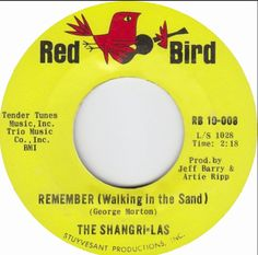 "the shangri-las, ""remember walking in the sand"""