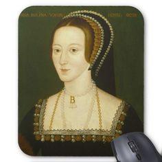 Anne Boleyn Second Wife of Henry VIII Portrait Mouse Pad