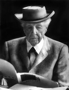 Alfred Eisenstaedt: Frank Lloyd Wright at his home and studio, Taliesin East, at Spring Green, Wisconsin, 1956