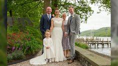 Jamie & Lisa Wedding Lakeside Hotel