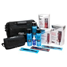 Oster Deluxe Fast Feed Classic 76 Hair Clippers & T-Finisher Trimmer Barber Kit