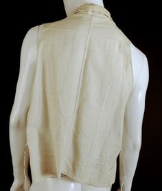 c.1810 Embroidered Linen Waistcoat at Vintage Martini – Vintage Martini-Designer Contemporary & Vintage Consignment Clothing