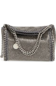 Stella McCartney  Mini Falabella - Dot  Crystal Embellished Crossbody Bag  59e80c19d98