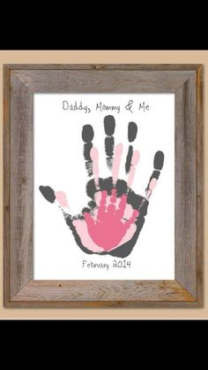 Do this on first bday handprints