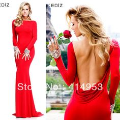 low back dresses red - Google Search