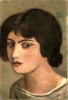 André Derain - Tet de jeune fille, 1925
