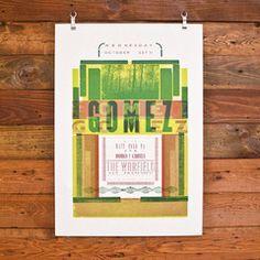 Hammerpress - Gomez Poster