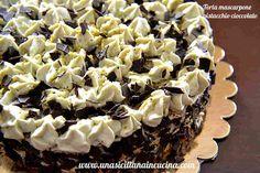 Torta mascarpone pistacchio e cioccolato-Una siciliana in cucina