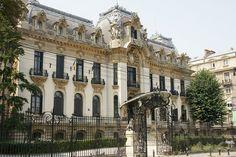 George Enescu Museum, Bucharest Wonderful Places, Beautiful Places, French Exterior, Bucharest Romania, Famous Castles, Mountain Resort, Top Destinations, Beautiful Buildings, Art And Architecture