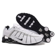 Nike Shox NZ 3 O\\\u0027Leven Plating White Black Men Shoes $79.59