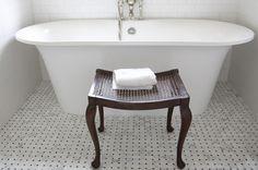 soaking tub small bathroom - Google Search