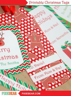 Editable Christmas Gift Tags, Printable Christmas Tags for Kids, Personalized Christmas Teacher Tags, Christmas Labels, Holiday Tag Template Christmas Tag Templates, Diy Christmas Tags, Christmas Gift Tags Printable, Christmas Gift Wrapping, Christmas Printables, Party Printables, Christmas Ideas, Cars Birthday Invitations, Party Invitations