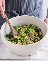 Quinoa, Kale and Avocado Salad Recipe on Food & Wine