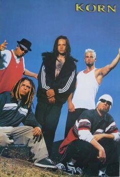 korn poster :D Papa Roach, Breaking Benjamin, Garth Brooks, Sara Bareilles, Korn, Nu Metal, Heavy Metal, Metal Bands, Rock Bands