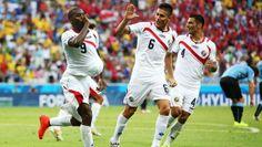 Costa Rica vs Uruguay final score 3-1